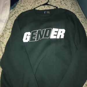 """""""Gender""""Sweater"""